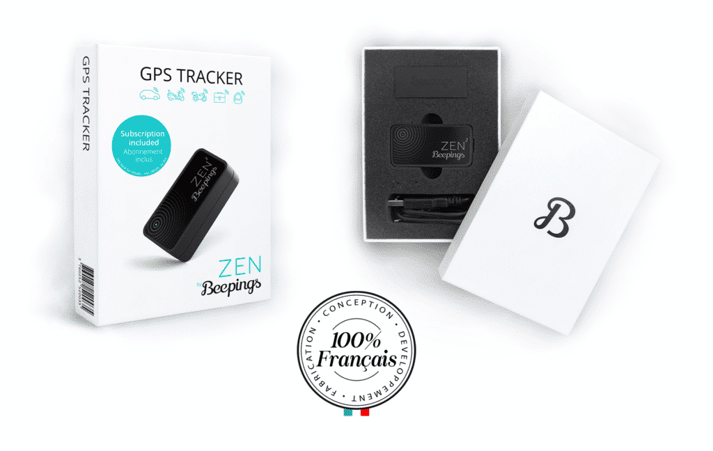 tracker zen by beepings, certified French quality
