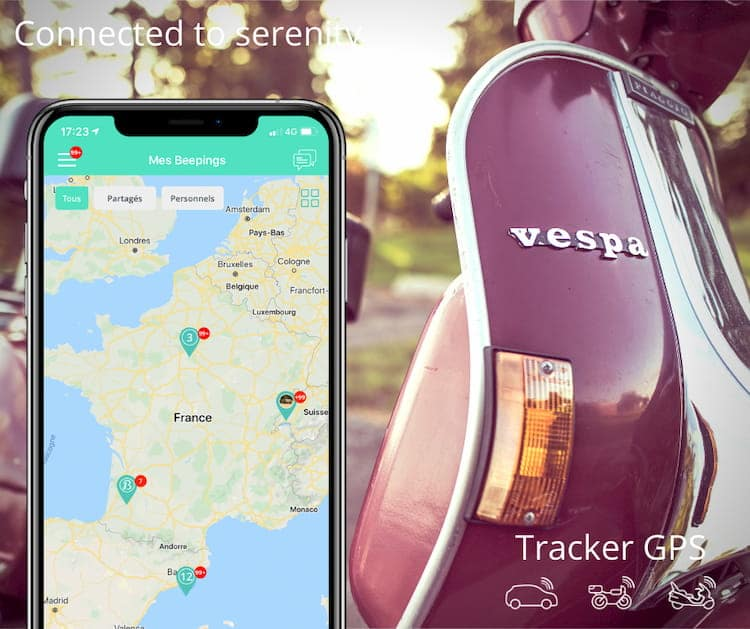 Gps tracker pour scooter